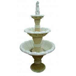 Fuente para jardín con 3 alturas