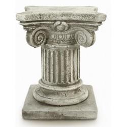 Pedestal piedra picada