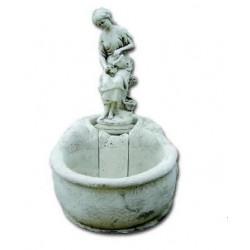 Fuente de Jardín niña con cántaro