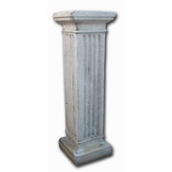 Pedestal cuadrado