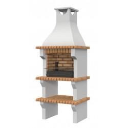 Barbacoa de obra prefabricada modelo Madrid