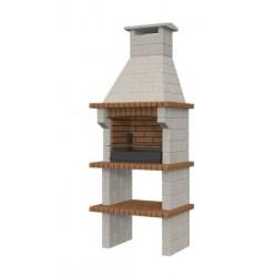 Barbacoa de obra prefabricada modelo Galicia